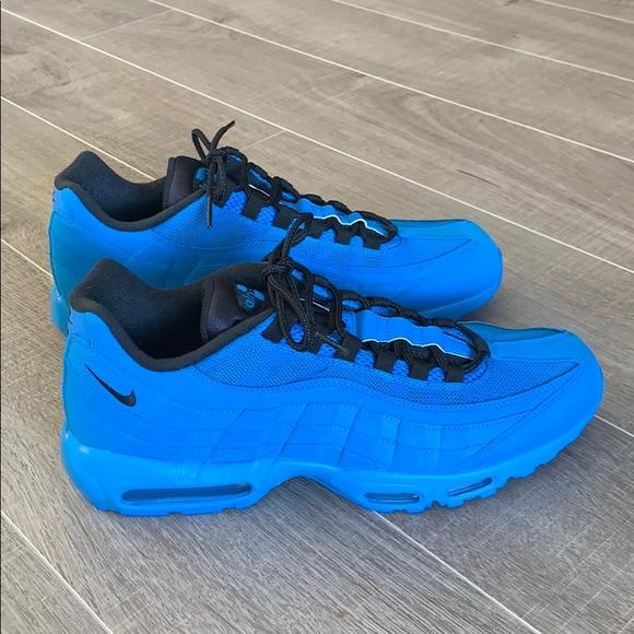mens blue air max 95